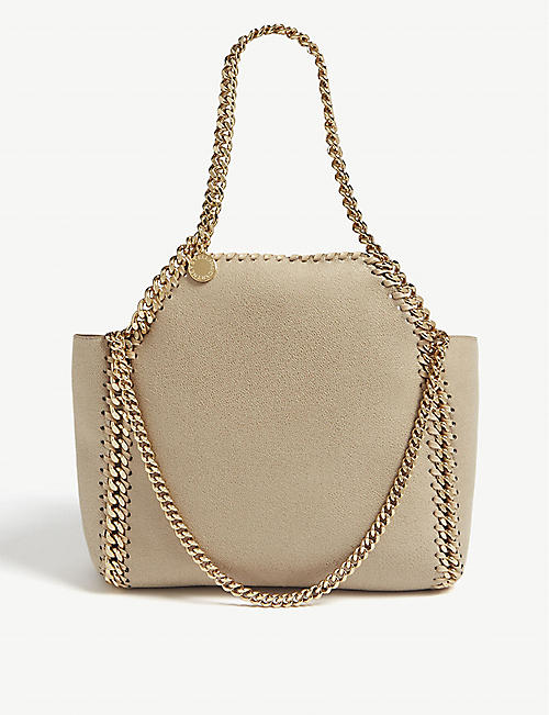 0760b2cf85d9 STELLA MCCARTNEY Falabella reversible faux-suede mini tote