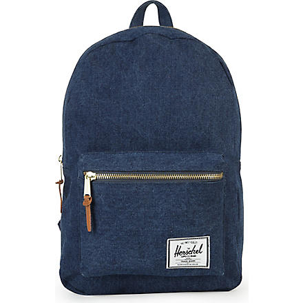 HERSCHEL Settlement denim backpack (Denim