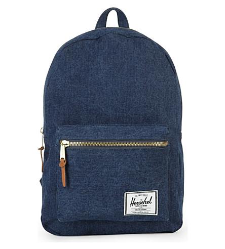 HERSCHEL Settlement denim backpack (Denim