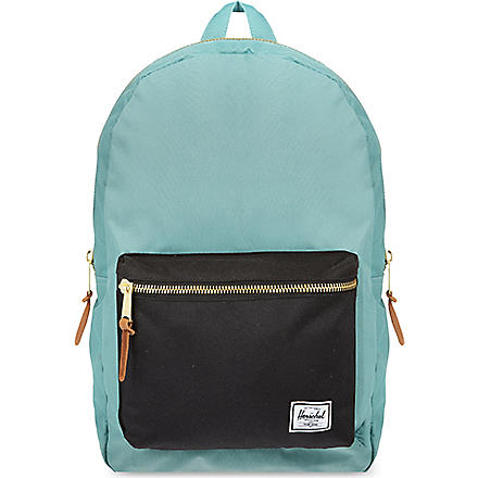 HERSCHEL Settlement backpack (Black/seafoam