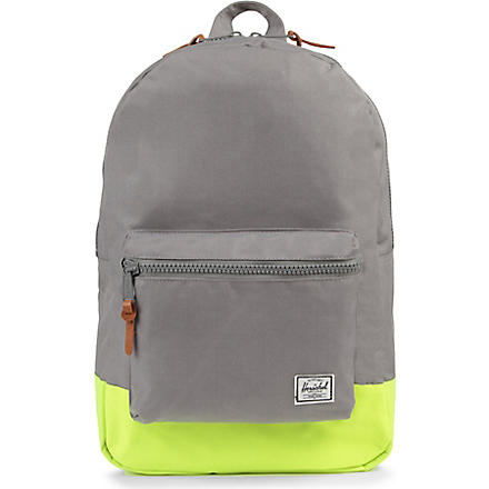 HERSCHEL Settlement backpack (Grey/neon lime