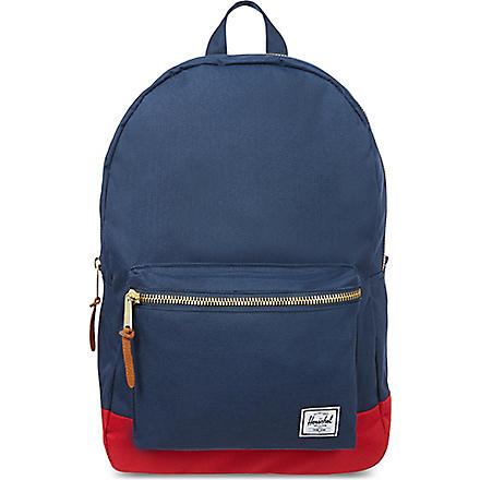 HERSCHEL Settlement backpack (Navy/red
