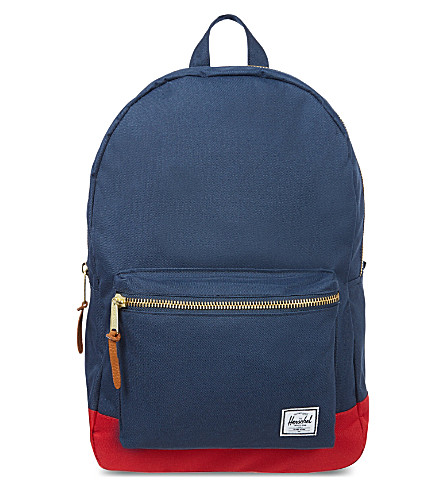 HERSCHEL Settlement backpack (Navy/red