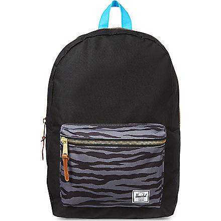 HERSCHEL Settlement backpack (Zebra/cyan