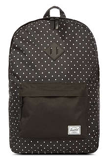 HERSCHEL Polka-dot heritage backpack