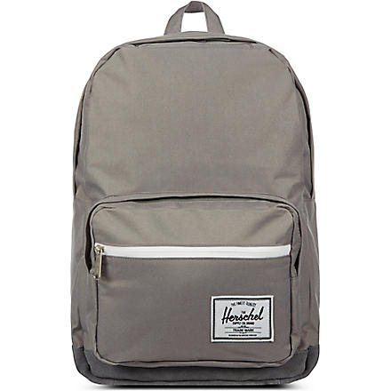 HERSCHEL Suede Pop Quiz backpack (Grey