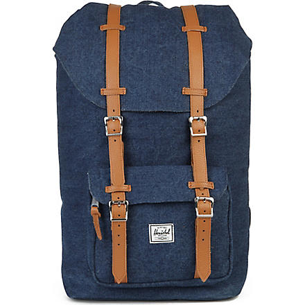 HERSCHEL Little America denim backpack (Denim