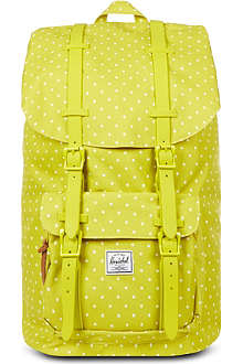 HERSCHEL Polka-dot Little America backpack