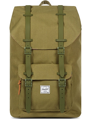 HERSCHEL Little America rubber-strap backpack