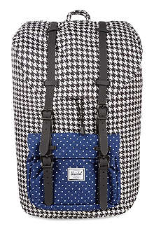 HERSCHEL Houndstooth little America bag