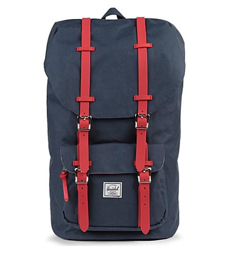 HERSCHEL Little America backpack (Navy/red