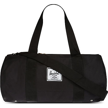 HERSCHEL Sutton canvas holdall (Black