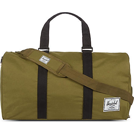 HERSCHEL Novel holdall (Army/black