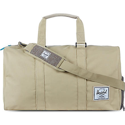 HERSCHEL Knitted novel holdall (Khaki