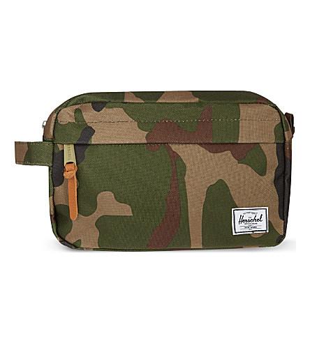 HERSCHEL Chapter wash bag (Woodland/camo