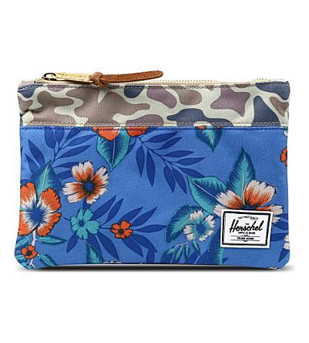 HERSCHEL Field pouch (Duck camo/paradise
