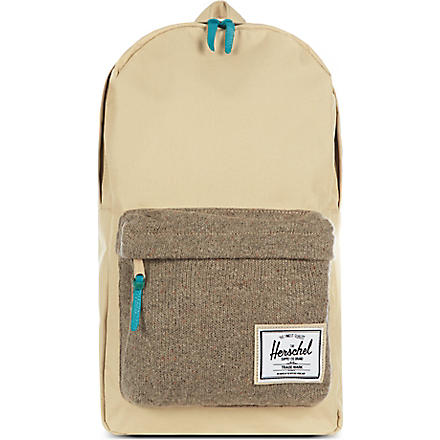 HERSCHEL Knitted Woodside backpack (Khaki