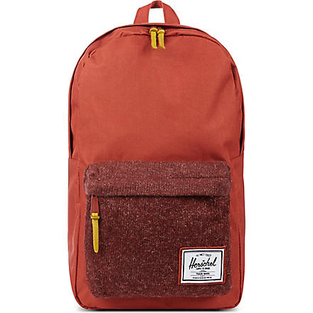 HERSCHEL Knitted Woodside backpack (Rust