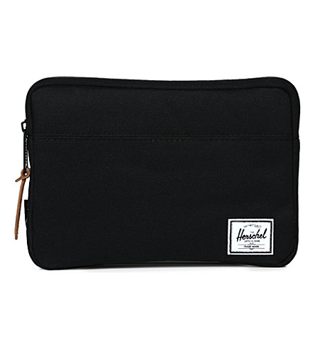 HERSCHEL SUPPLY CO Anchor sleeve iPad mini case (Black
