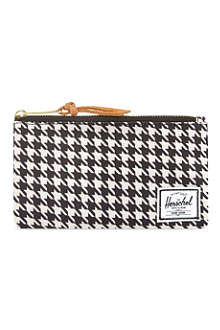 HERSCHEL Network small houndstooth pouch