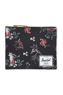 HERSCHEL Network canvas large pouch