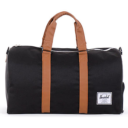HERSCHEL Novel duffel bag (Black/tan