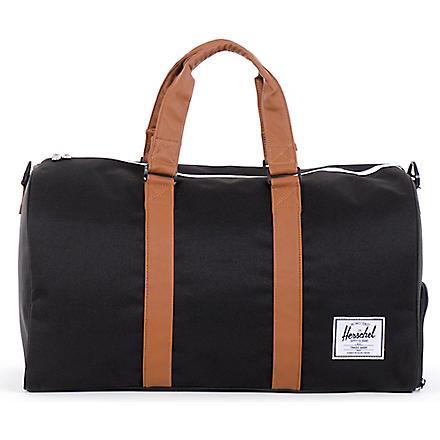 HERSCHEL Novel duffel bag (Black/tan