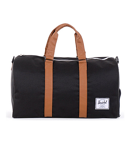 HERSCHEL SUPPLY CO Novel duffel bag (Black/tan