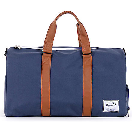 HERSCHEL Novel duffel bag (Navy/tan