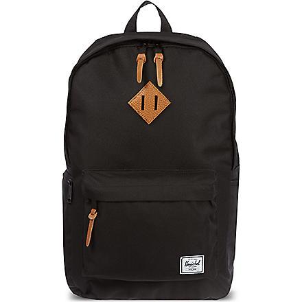 HERSCHEL Heritage plus backpack (Black