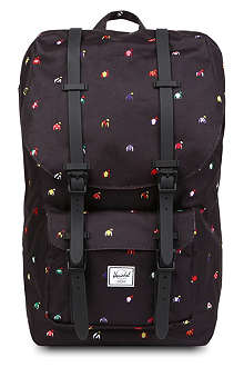 HERSCHEL Lightweight black backpack