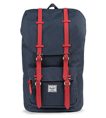 HERSCHEL Little America backpack (Navy/red