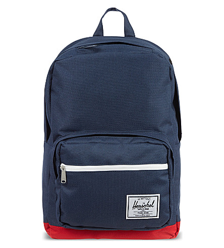 HERSCHEL SUPPLY CO Pop Quiz backpack (Navy/red