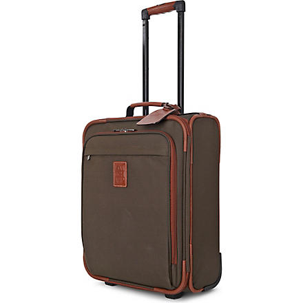 LONGCHAMP Boxford two-wheel cabin suitcase 48cm (Brown
