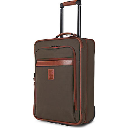LONGCHAMP Boxford two-wheel suitcase 55cm (Brown