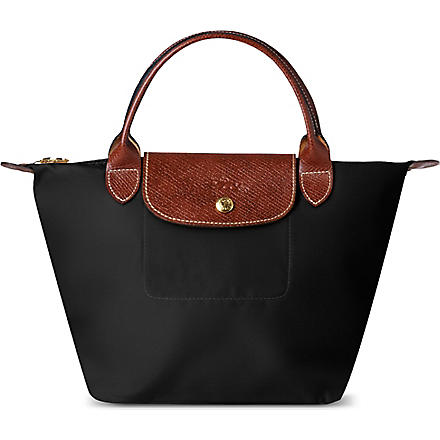 LONGCHAMP Le Pliage small handbag in black (Black