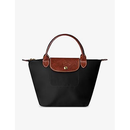 LONGCHAMP Le Pliage small handbag in black (Black