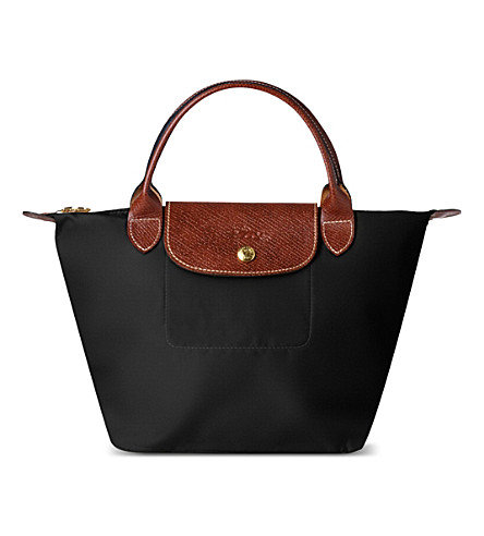 LONGCHAMP Le Pliage small handbag (Black