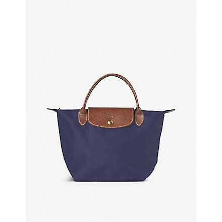 LONGCHAMP Le Pliage small handbag in navy (Navy