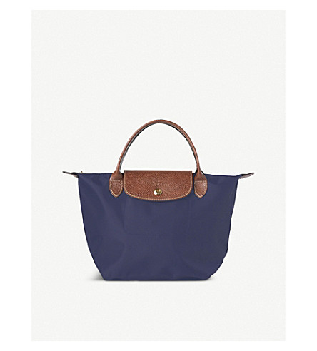 LONGCHAMP Le Pliage small handbag (Navy