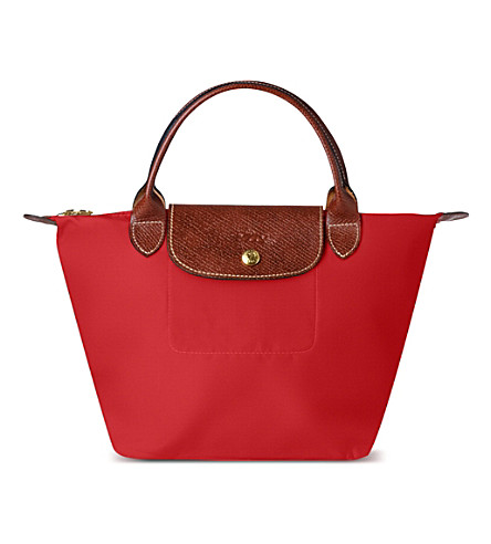 LONGCHAMP Le Pliage small handbag (Red