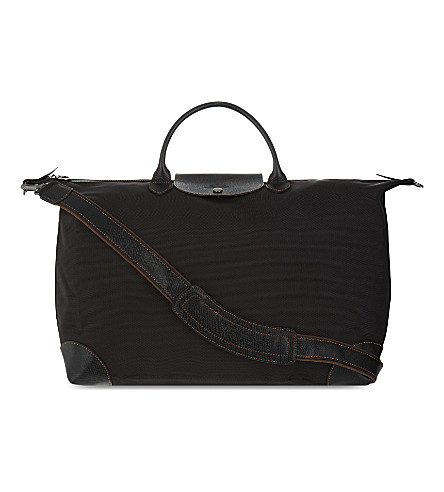 LONGCHAMP Boxford medium travel bag (Black