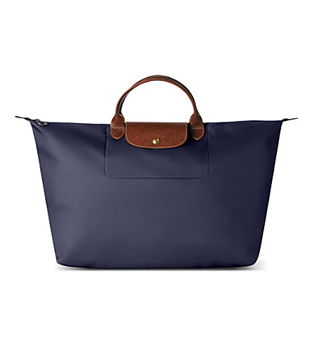 LONGCHAMP Le Pliage medium travel bag - navy (Navy