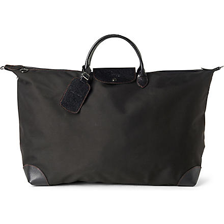 LONGCHAMP Boxford large travel bag in black (Black