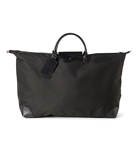 LONGCHAMP Boxford large holdall (Black