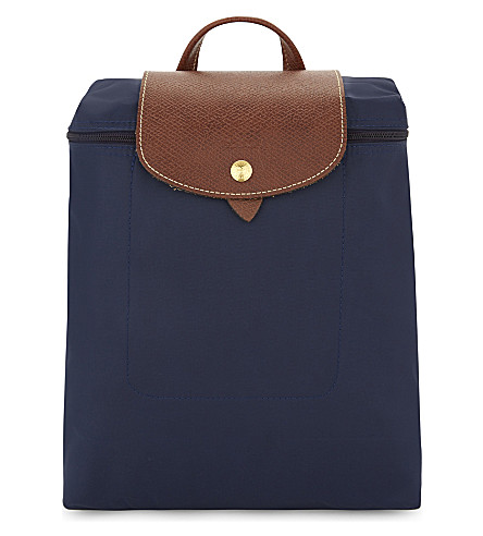 LONGCHAMP Le Pliage backpack (Navy