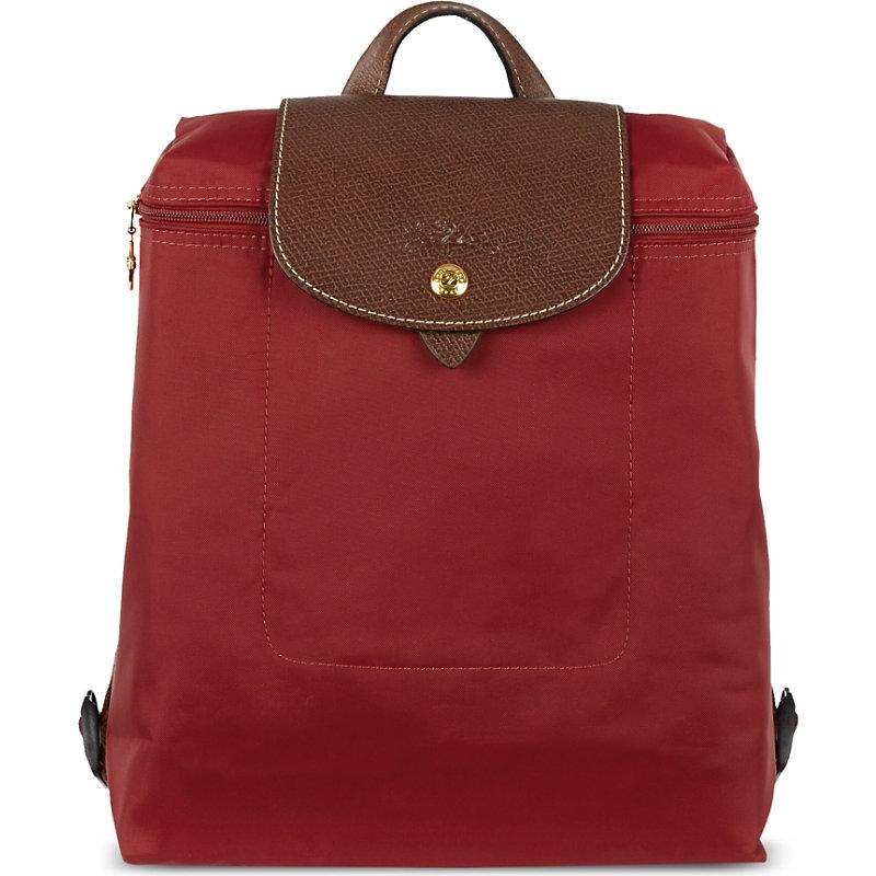 LONGCHAMP | Longchamp Ladies Black Classic Le Pliage Backpack | Goxip