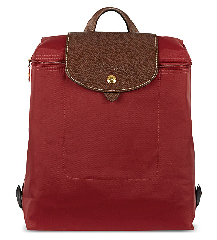 LONGCHAMP Le Pliage backpack (Red