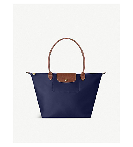 LONGCHAMP Le Pliage large shopper in navy (Navy