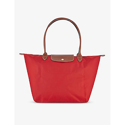 LONGCHAMP Le Pliage large shopper in red (Red